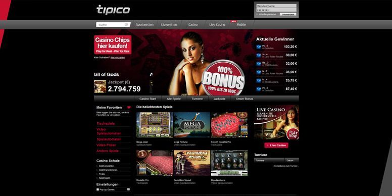 tipico online casino touch spiele