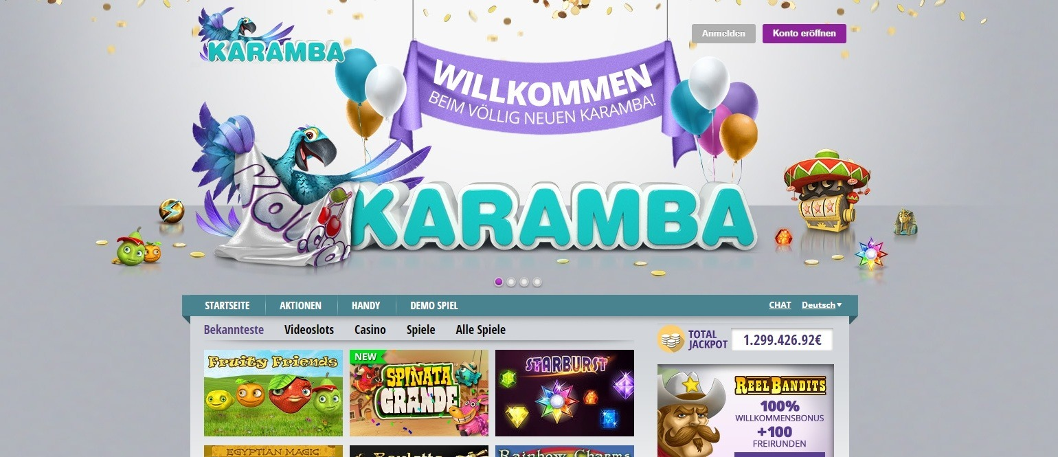 Karamba-casino-screenshot