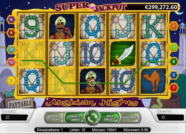 Spiele Arabian Nights Slots - Video Slots Online