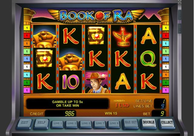online slot machine spielen book of ra