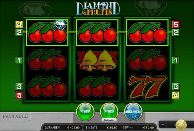 Diamond-and-Fruits-Spiel