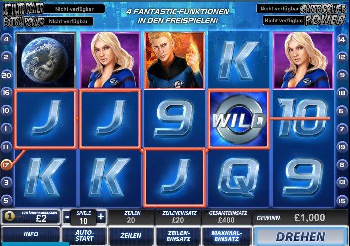 Fantastic-Four-Spiel