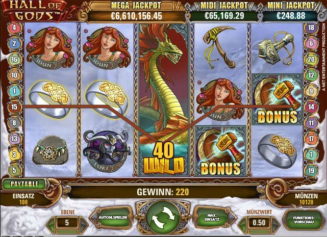 Spiele Hall Of Gods Slots - Video Slots Online