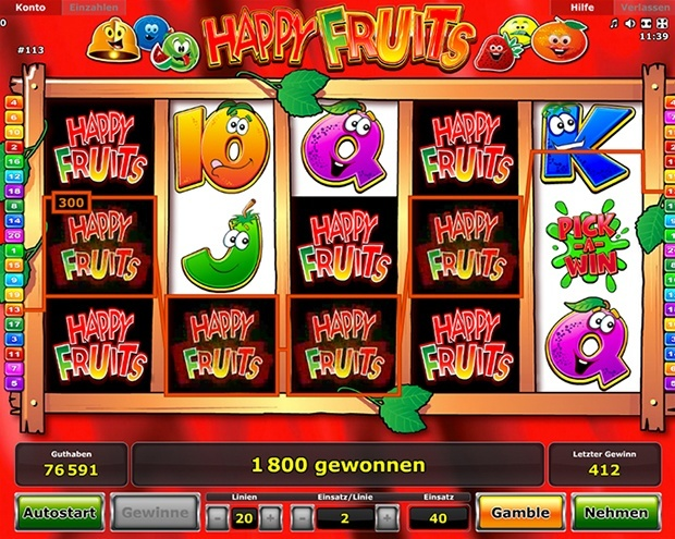 Happy-Fruits-Spiel