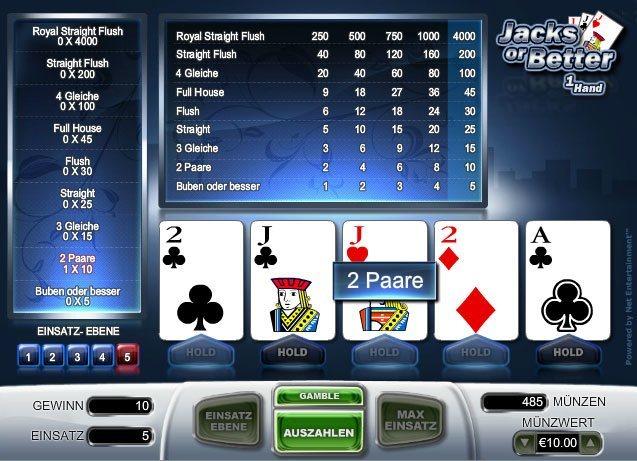 Jacks-or-Better-Casino-Spiele