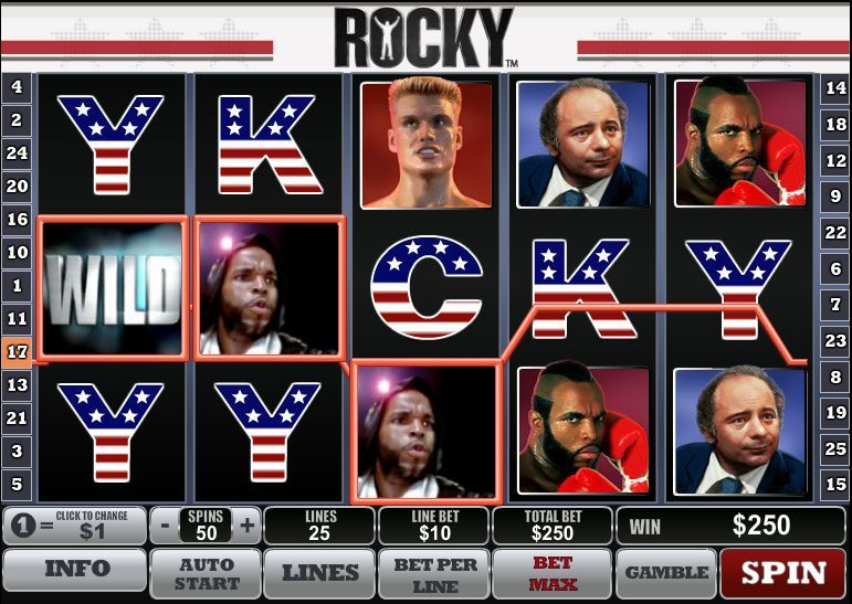 Rocky-Spiel