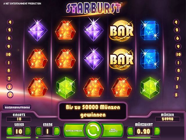 Starburst-Casinospiele
