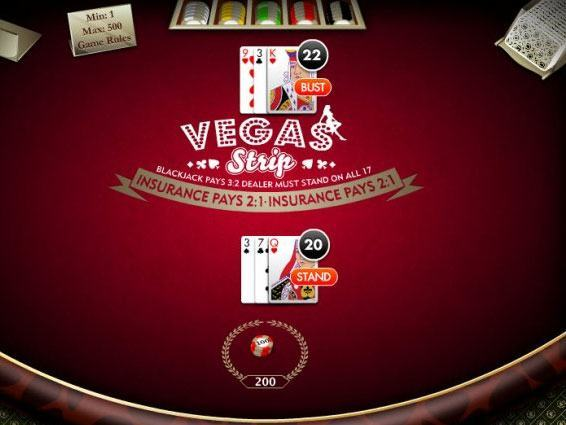Vegas-Strip-Black-Jack-bild