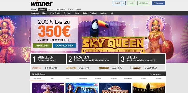 Winner Casino Betrug